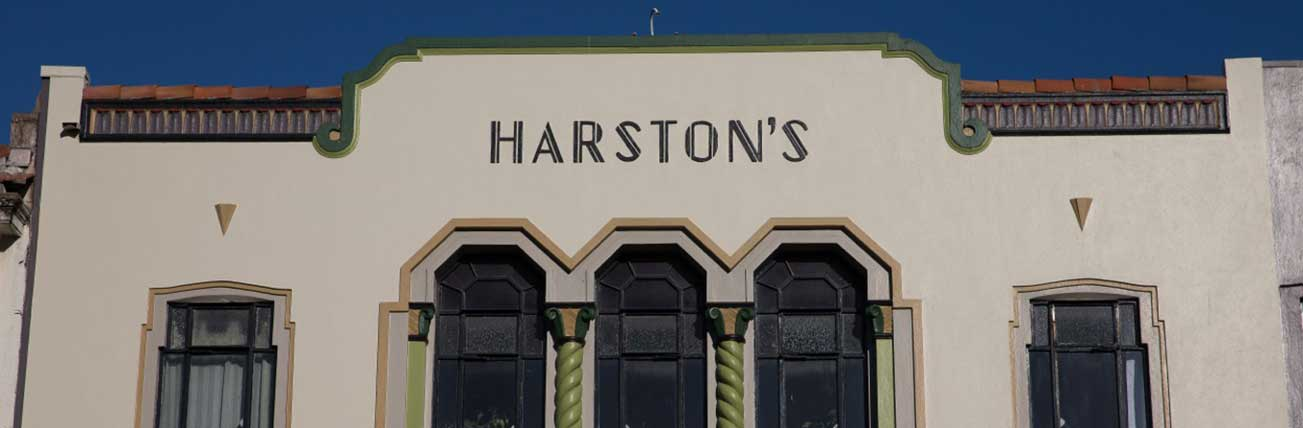 Art Deco Masonic Hotel Harstons Napier
