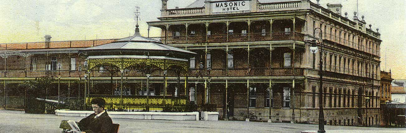 Art Deco Masonic Hotel Napier Accommodation History 1