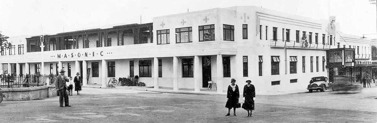 Art Deco Masonic Hotel Napier Accommodation History 3