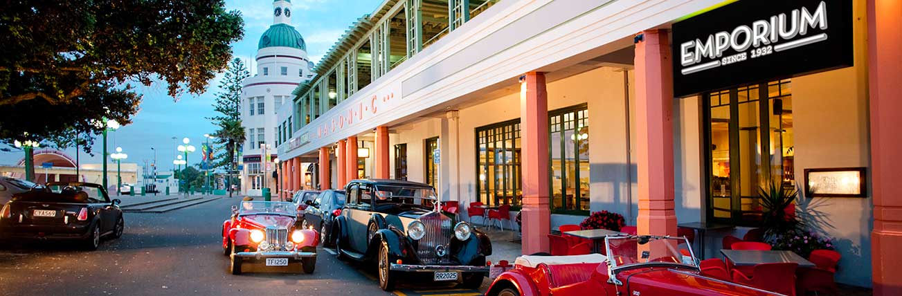 Art Deco Masonic Hotel Napier Accommodation