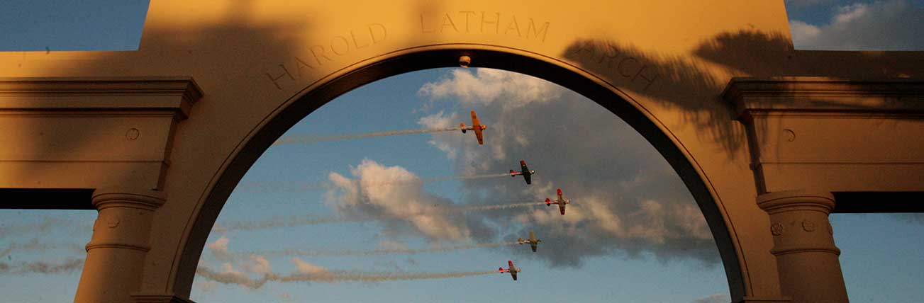 Art Deco Weekend Flyover Hawkes Bay NZ