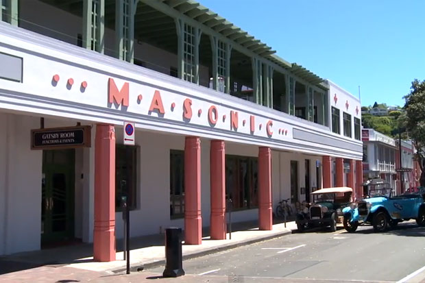 Art Deco Masonic Hotel Video