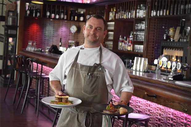 Damon McGinniss Art Deco Masonic Hotel Executive Chef