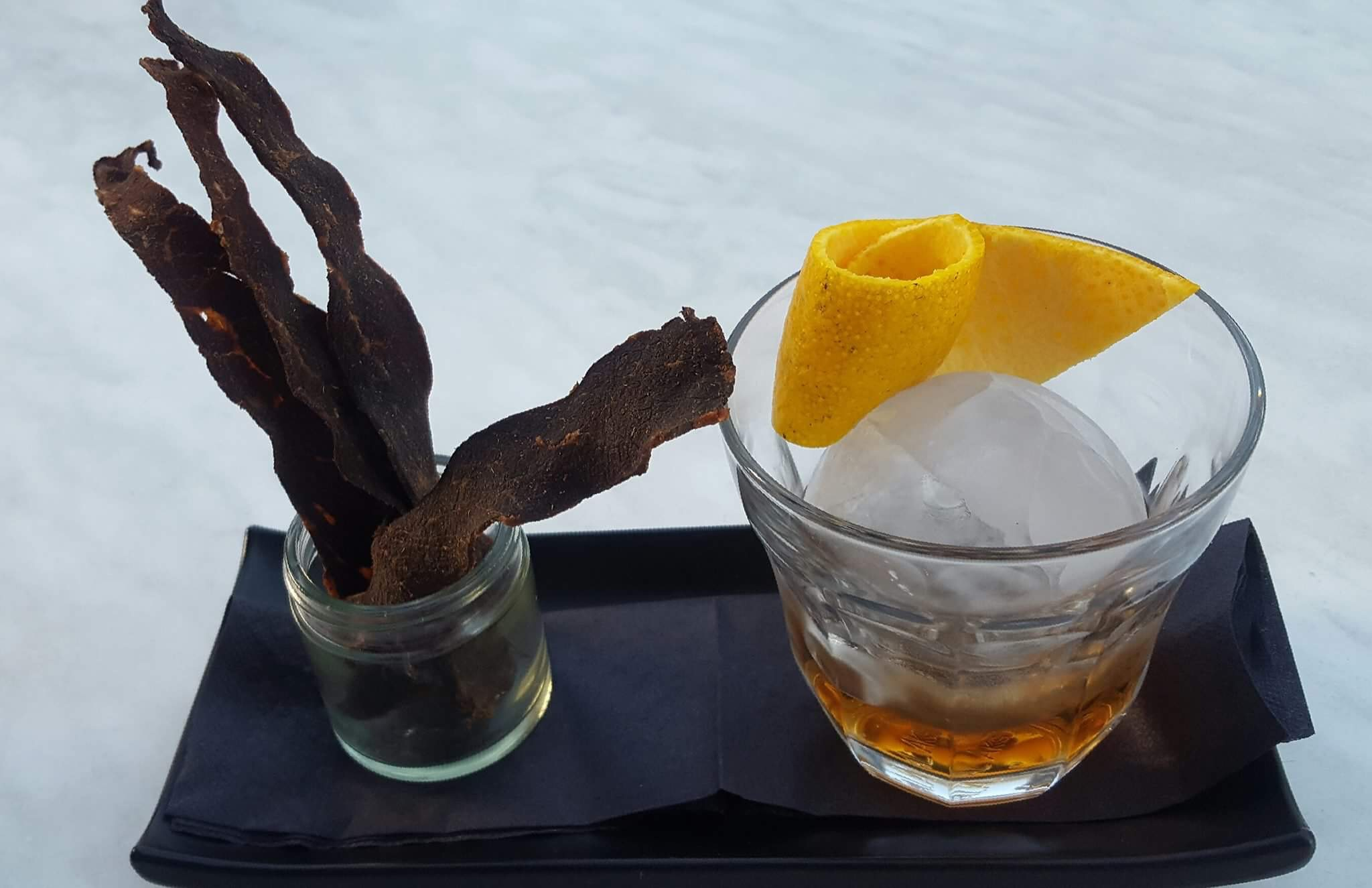 F.A.W.C! Buffalo jerky and bourbon make a quirky mix - Hawke's Bay Today
