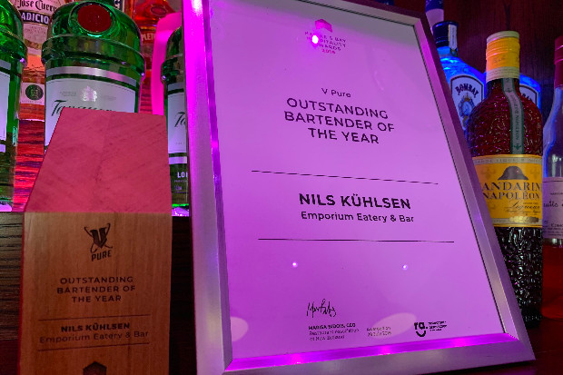 Nils Kuhlsen WINS the Hawke's Bay Hospitality Awards Bartender of The Year 2019!