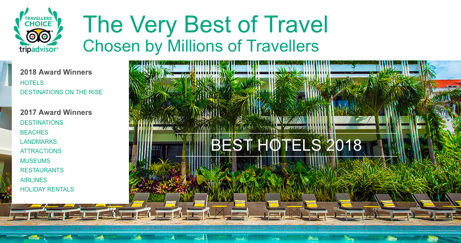 2018 TripAdvisor Travelers' Choice®  - New Zealand's Top 25 Hotels