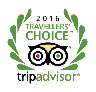 Voted New Zealand's 5th Best Hotel - Tripadvisor Traveller's Choice Award 2016