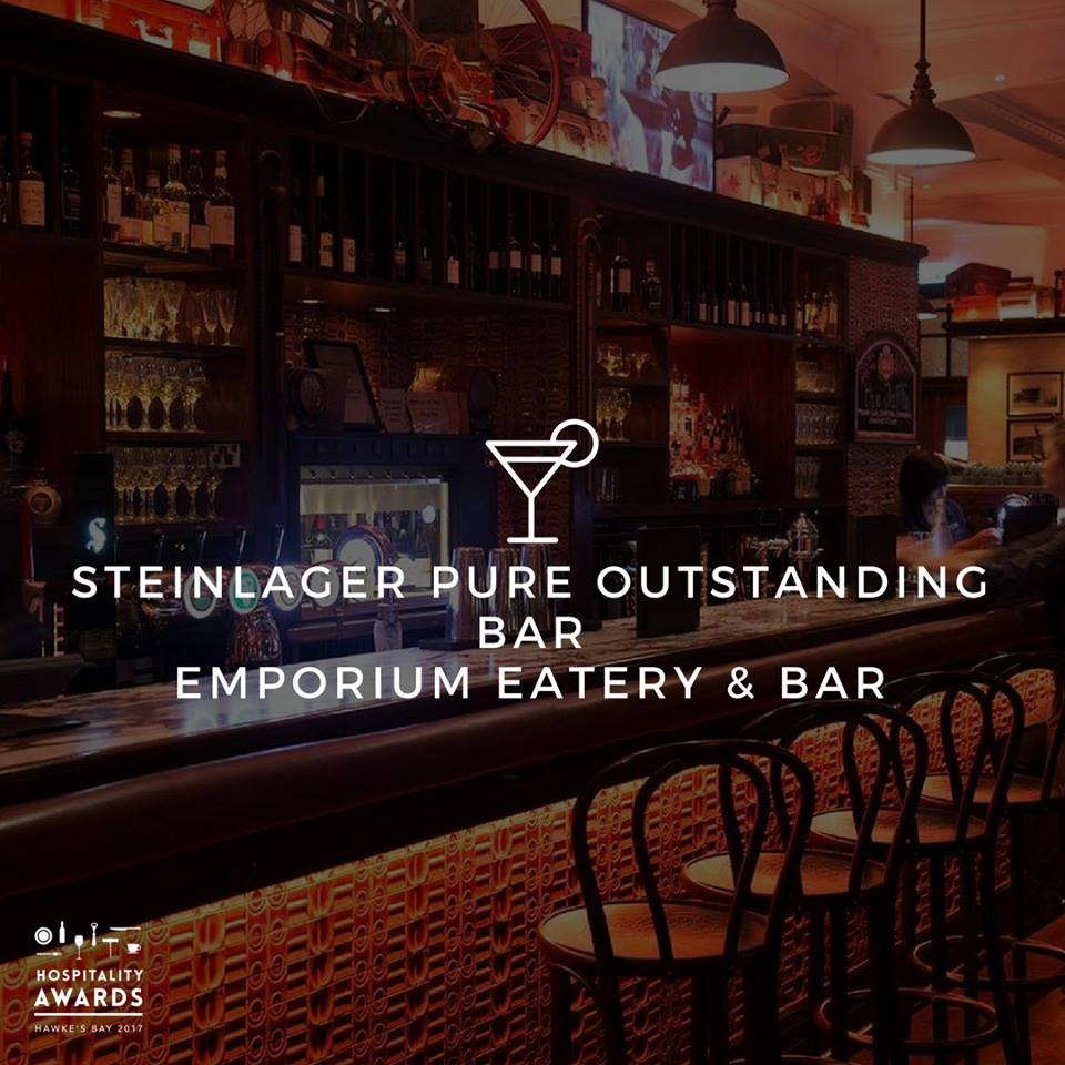 Emporium Eatery & Bar - Wins Outstanding Bar
